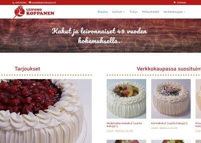 Leipomo Koppanen - etusivu