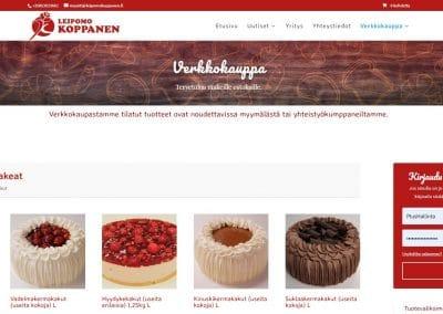 Leipomo Koppanen - verkkokauppa