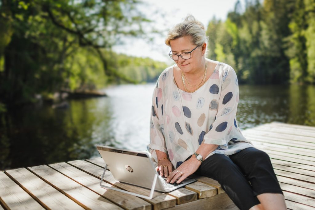 Marja-Liisa Pyysalo - FSP Finnish Steel Painting Oy - luotettavaa kumppanuutta